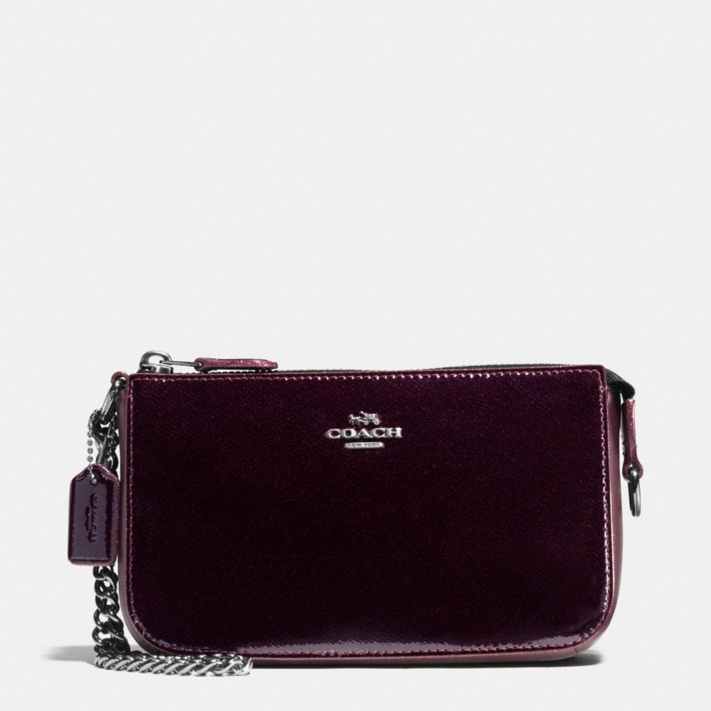 NOLITA WRISTLET 19 IN PATENT LEATHER
