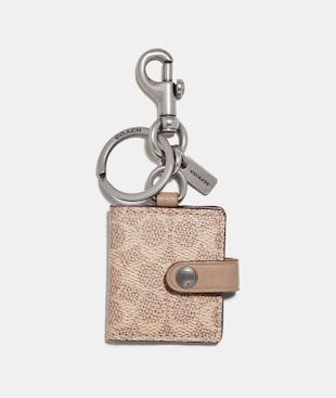 SIGNATURE PICTURE FRAME BAG CHARM