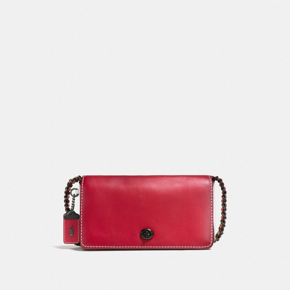 COLORBLOCK DINKY CROSSBODY IN MIXED MATERIALS