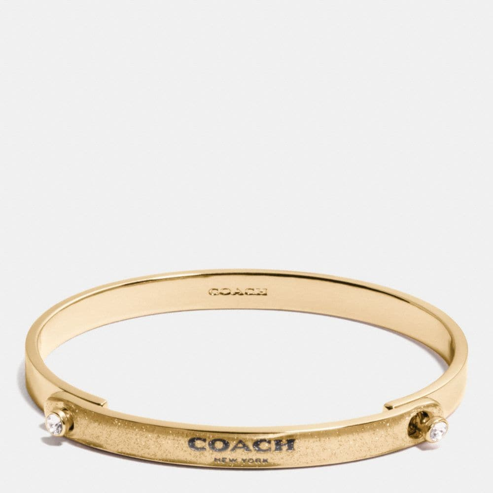 GLITTER COACH STONE TENSION BANGLE