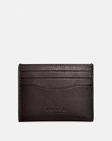 d45b5907789 Men's Card Cases | COACH ®