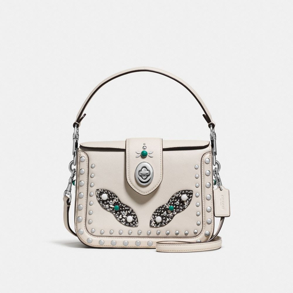 PAGE CROSSBODY WITH WESTERN RIVETS