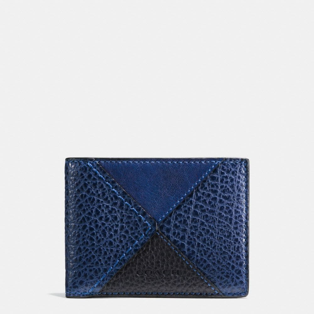 SLIM BILLFOLD WALLET IN CANYON QUILT LEATHER