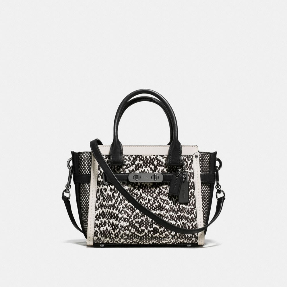 coach gray bag ezak  COACH SWAGGER 21 IN SNAKE