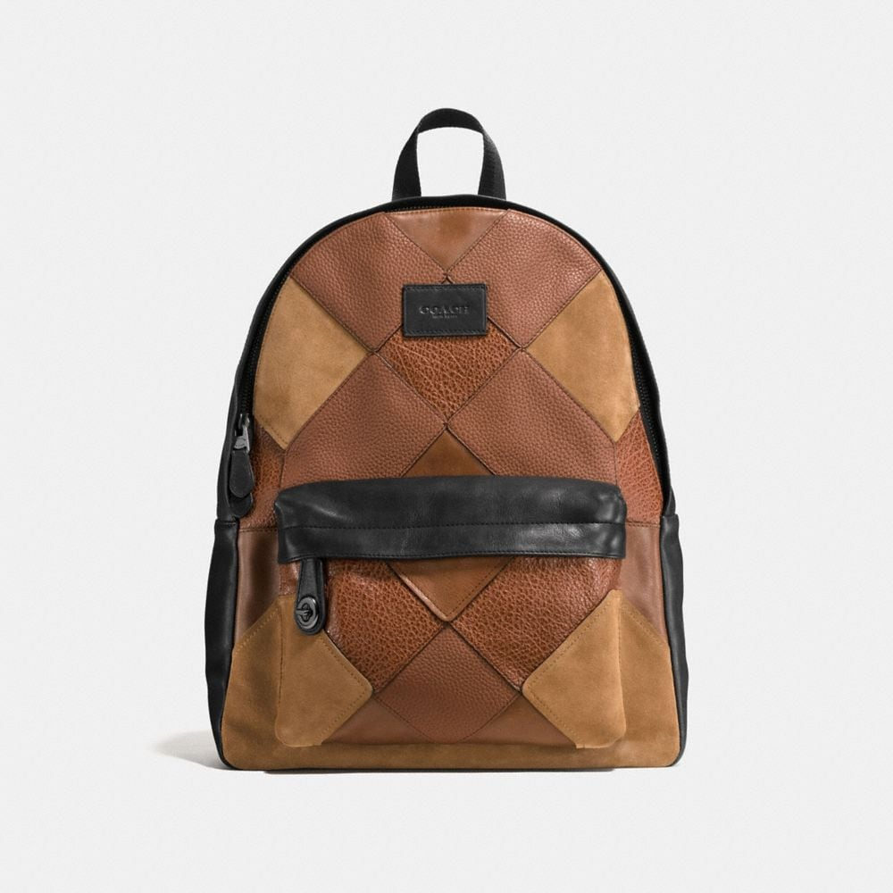 CAMPUS BACKPACK IN MIXED CANYON QUILT LEATHER