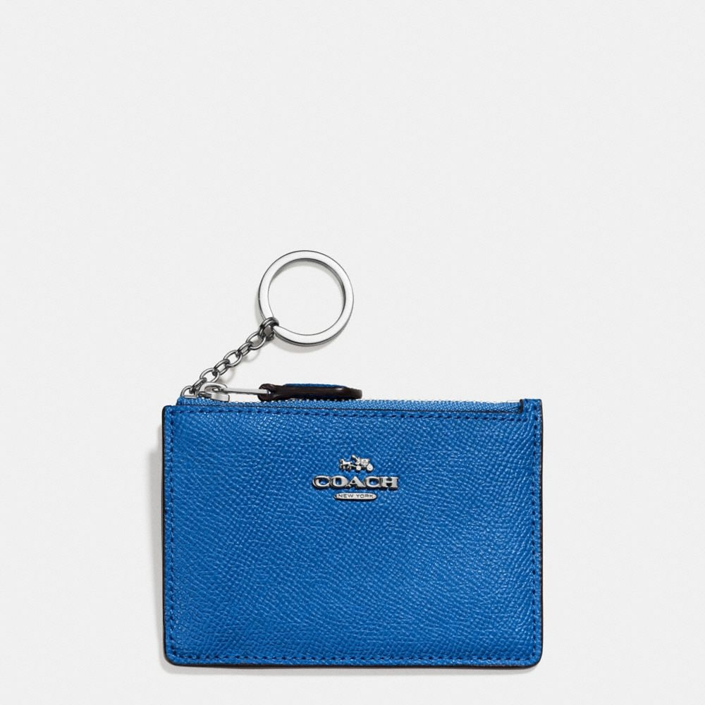 MINI SKINNY ID CASE IN CROSSGRAIN LEATHER