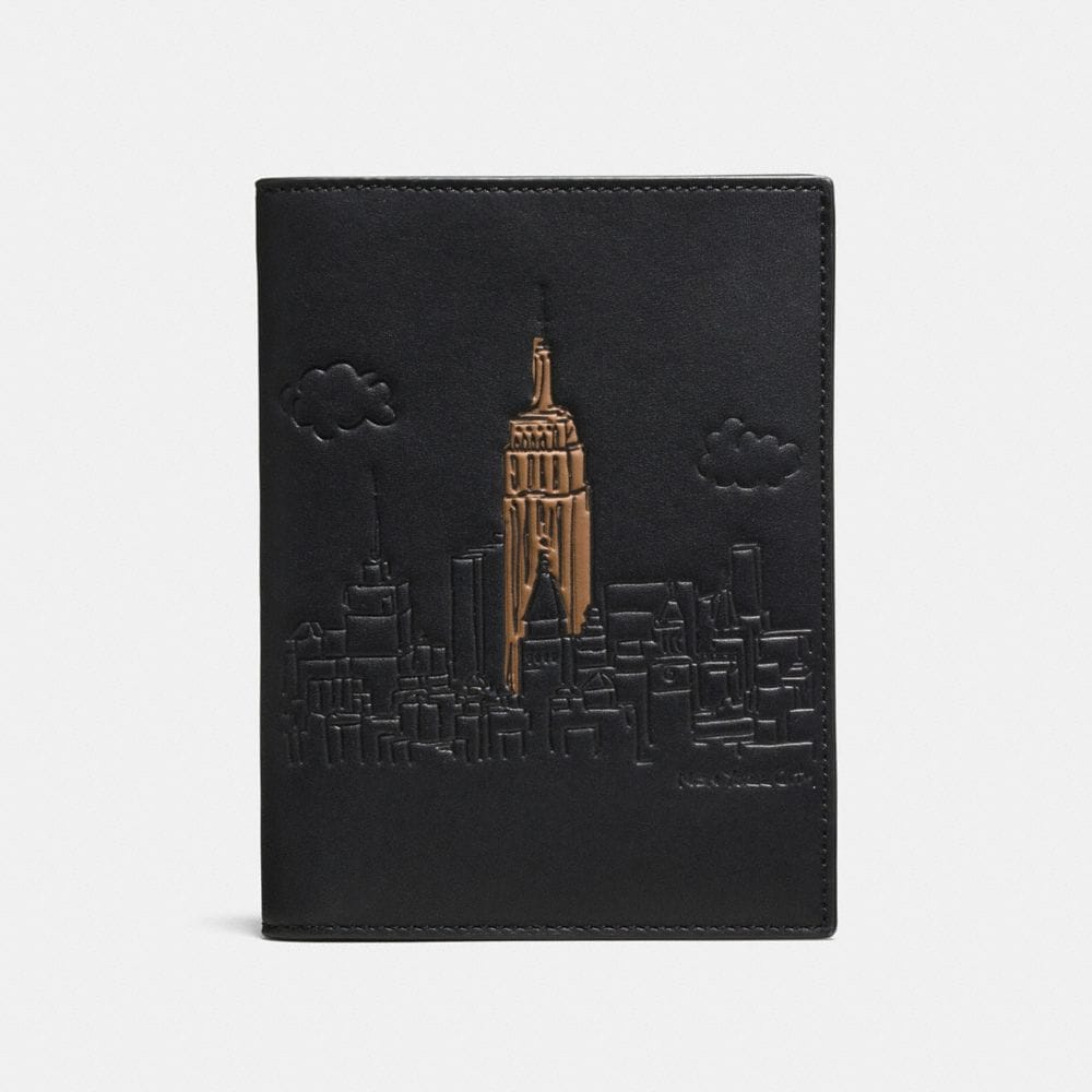 PASSPORT CASE IN GLOVETANNED LEATHER
