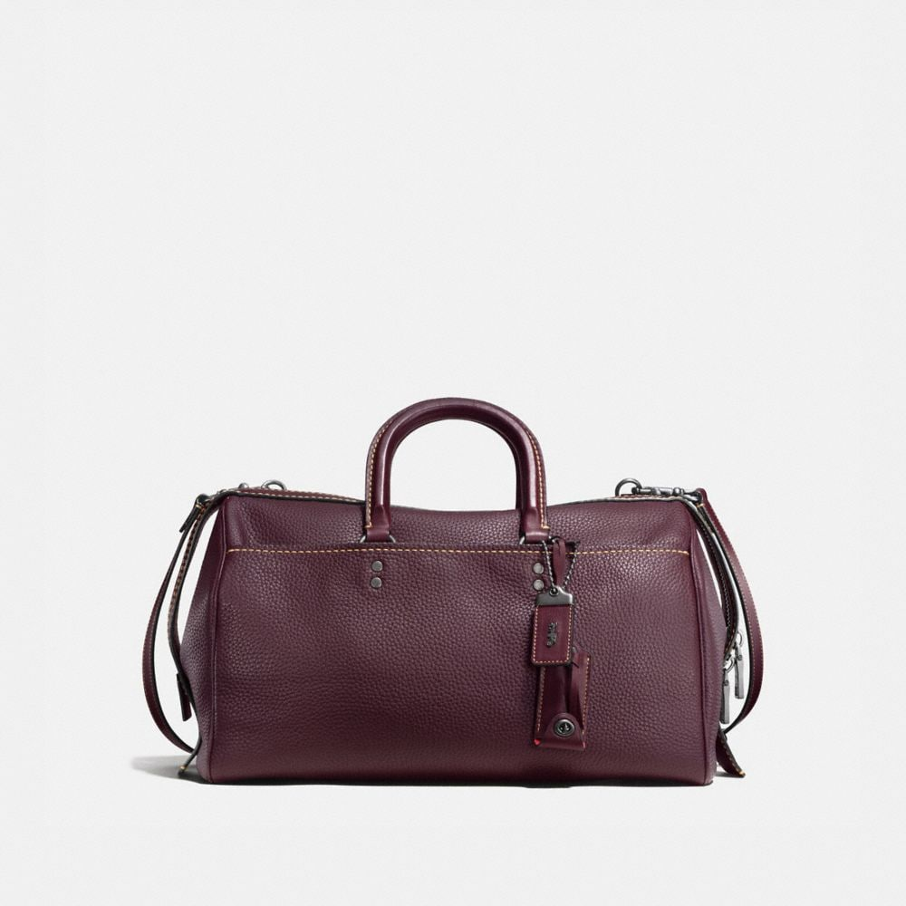 ROGUE SATCHEL 36 IN GLOVETANNED PEBBLE LEATHER