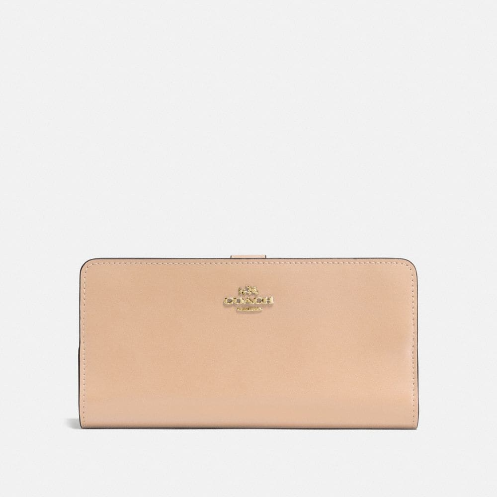 SKINNY WALLET IN REFINED CALF LEATHER