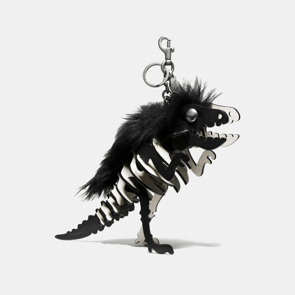LARGE WILD REXY BAG CHARM
