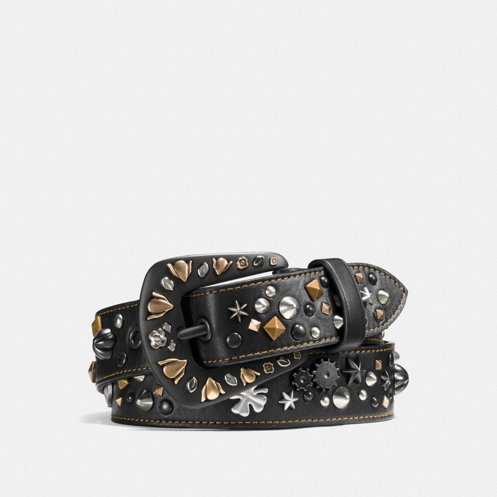 STARDUST STUDDED BELT