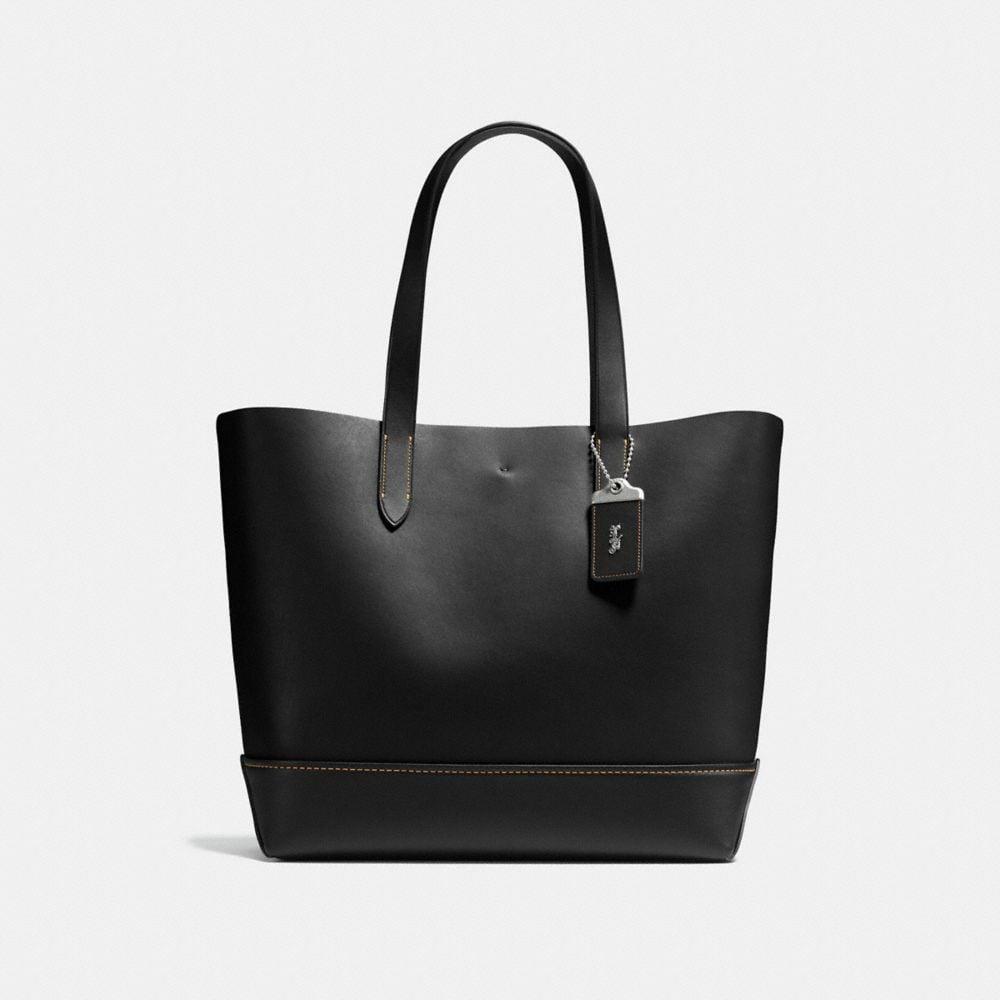 GOTHAM TOTE IN GLOVETANNED CALF LEATHER
