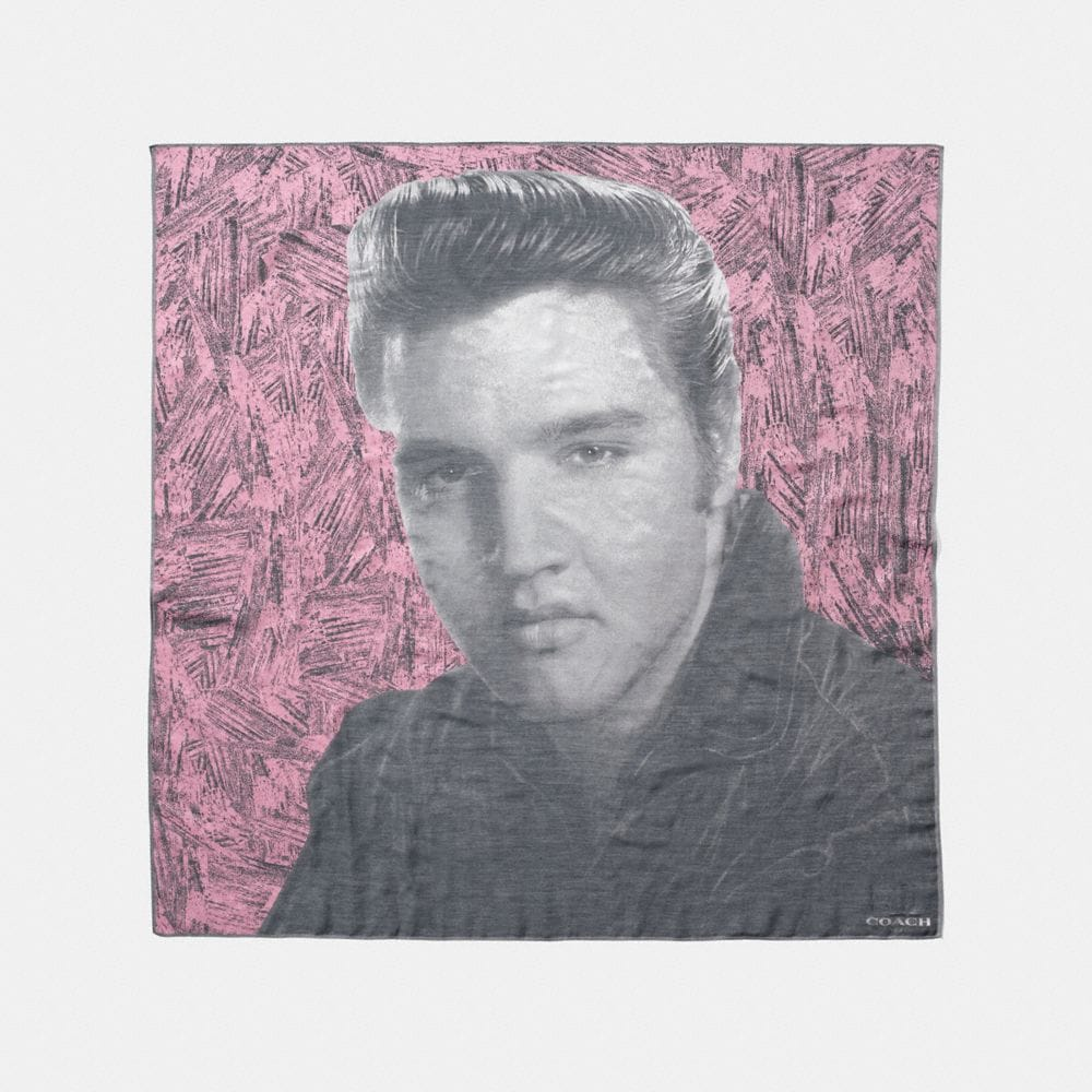 ELVIS™  OVERSIZED SQUARE SCARF