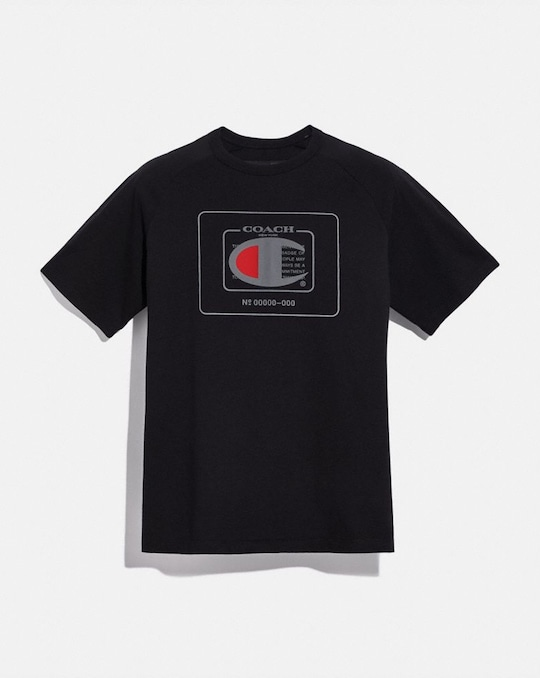 T-SHIRT COACH X CHAMPION