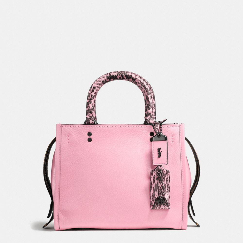 ROGUE BAG 25 IN COLORBLOCK SNAKE
