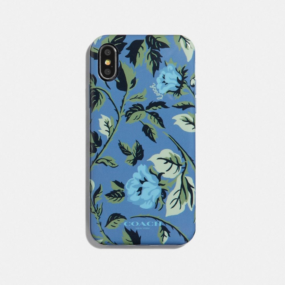 IPHONE X/XS CASE WITH SLEEPING ROSE PRINT