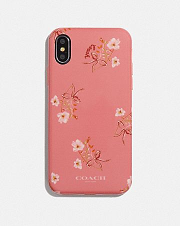 IPHONE X/XS CASE WITH FLORAL BOW PRINT