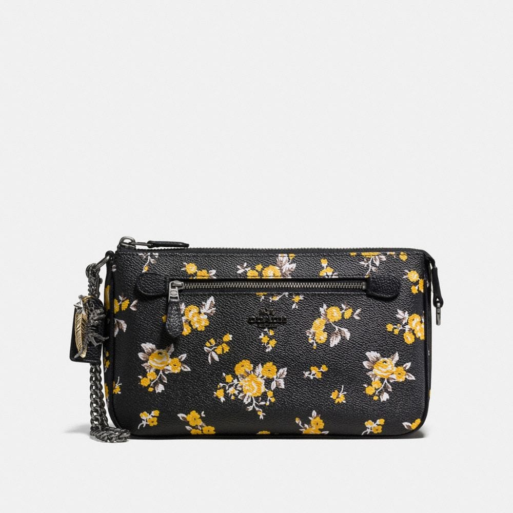 NOLITA WRISTLET 24 IN PRAIRIE PRINT COATED CANVAS