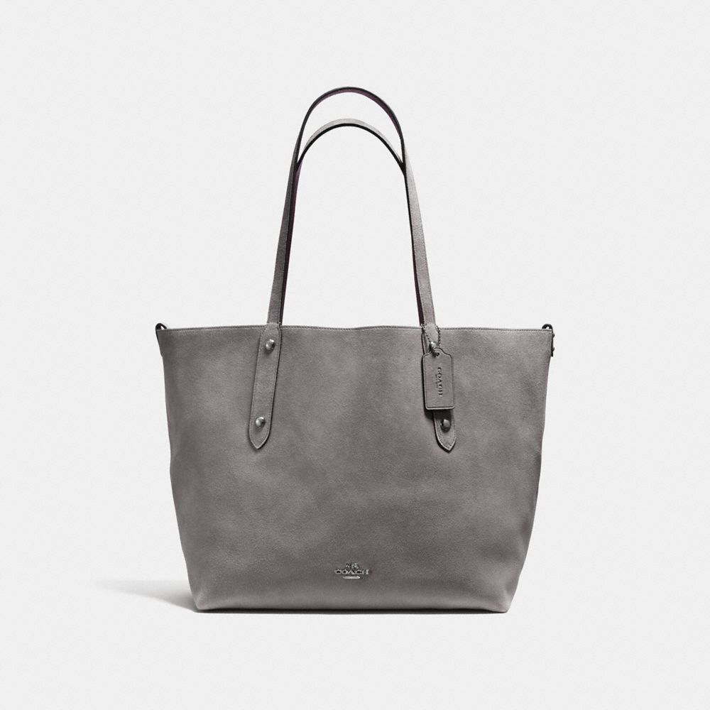 REVERSIBLE LARGE MARKET TOTE