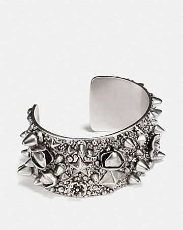 CLUSTER STUDDED WIDE CUFF