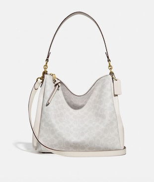 SHAY SHOULDER BAG IN SIGNATURE CANVAS