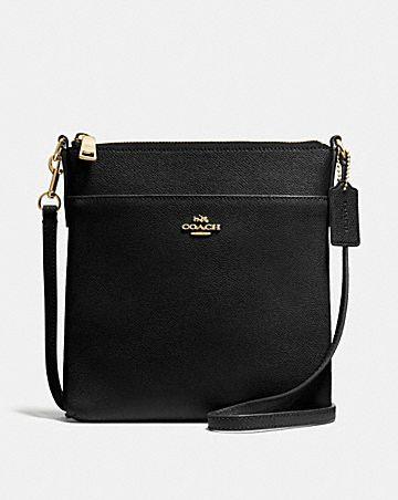 Coach Woman Chain-trimmed Leather Shoulder Bag Black Size Coach Cheap Sale 100% Guaranteed gvY0L5BWXA