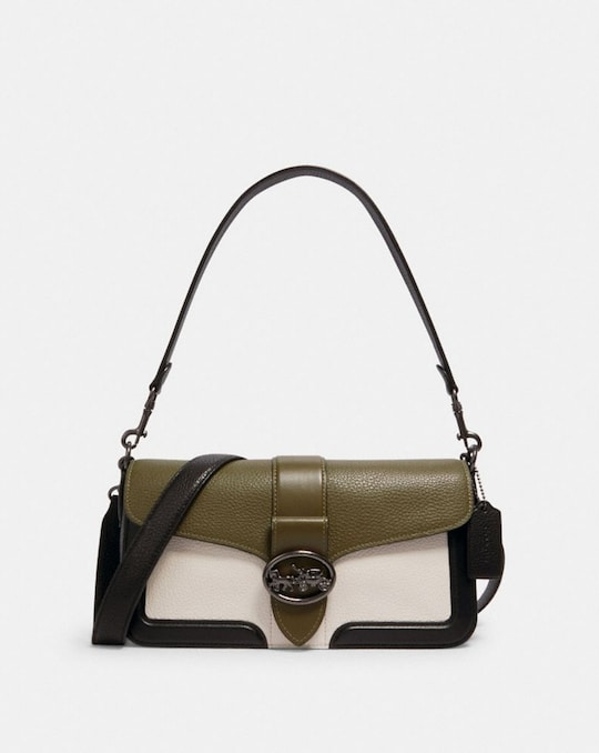 GEORGIE SHOULDER BAG IN COLORBLOCK