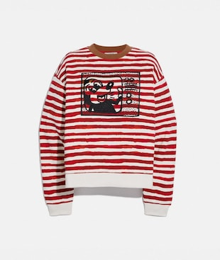 DISNEY MICKEY MOUSE X KEITH HARING CREWNECK