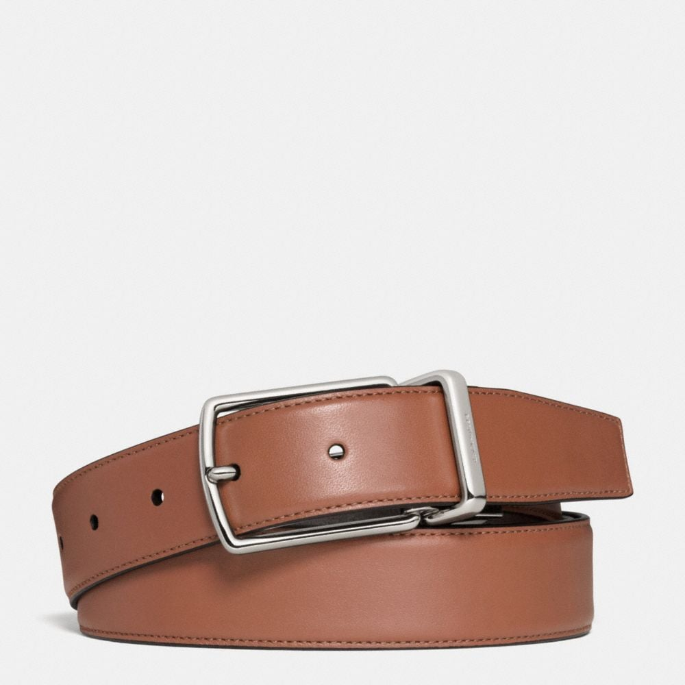 MODERN HARNESS CUT-TO-SIZE REVERSIBLE SMOOTH LEATHER BELT