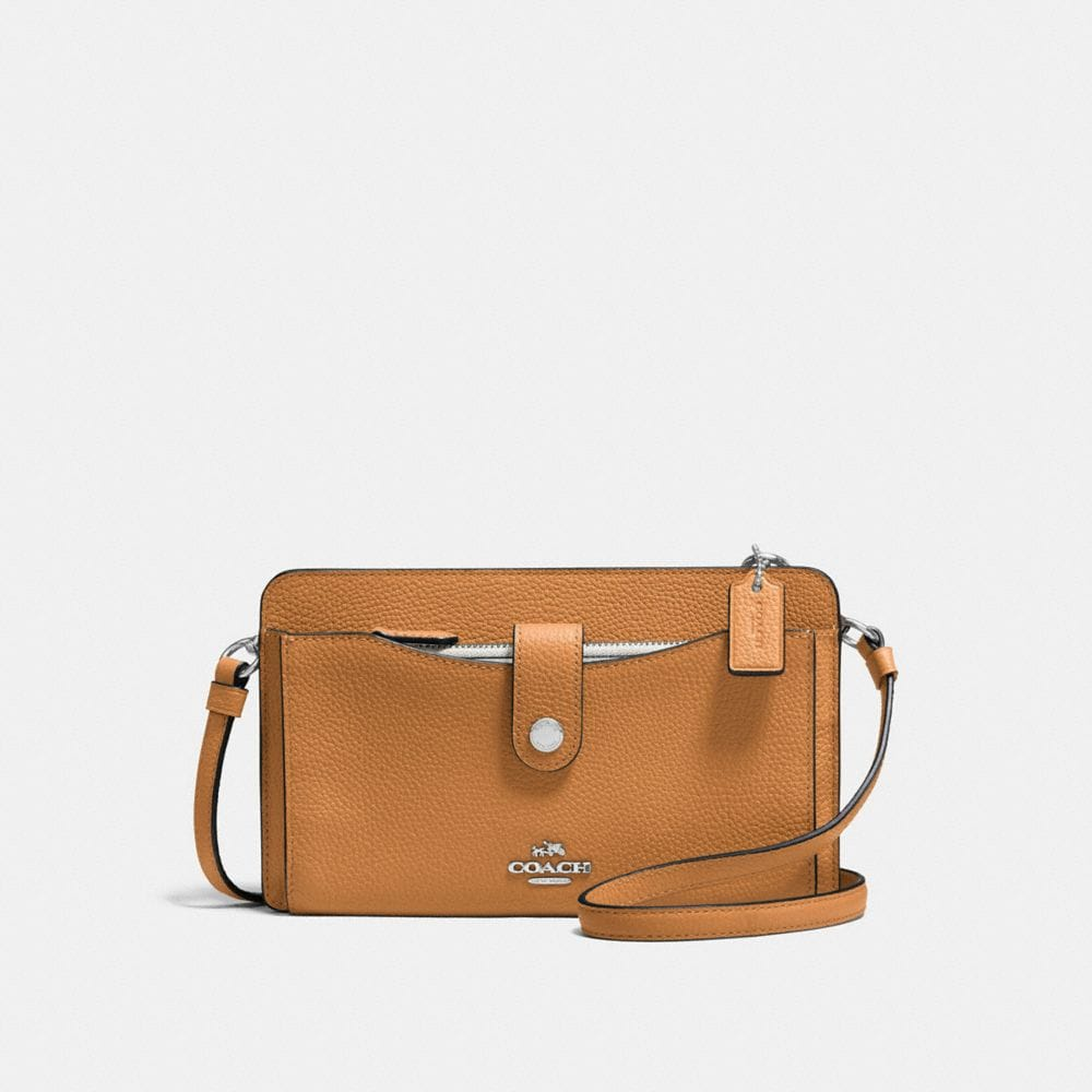POP-UP MESSENGER IN COLORBLOCK LEATHER