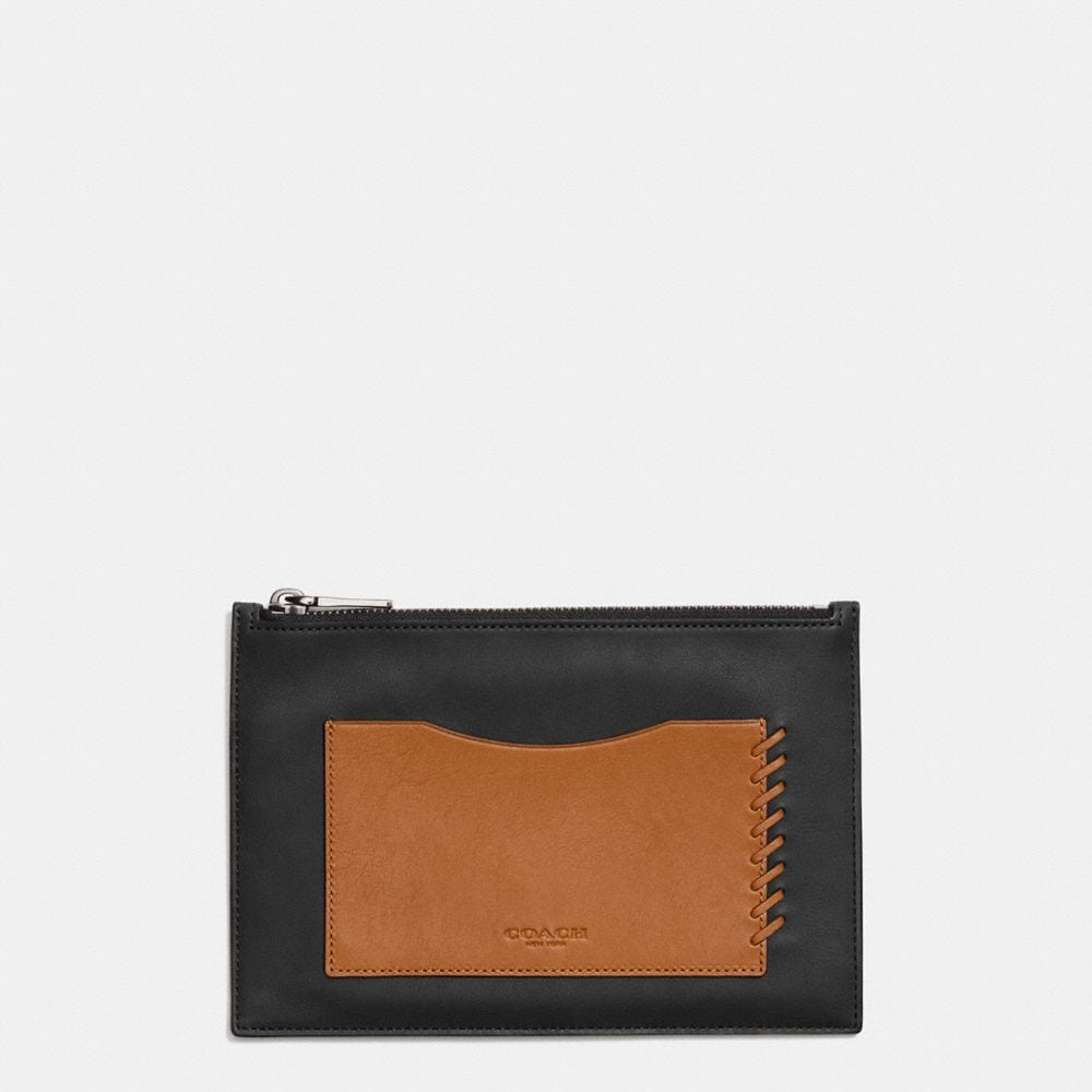 RIP AND REPAIR TECH ENVELOPE CASE IN SPORT CALF LEATHER