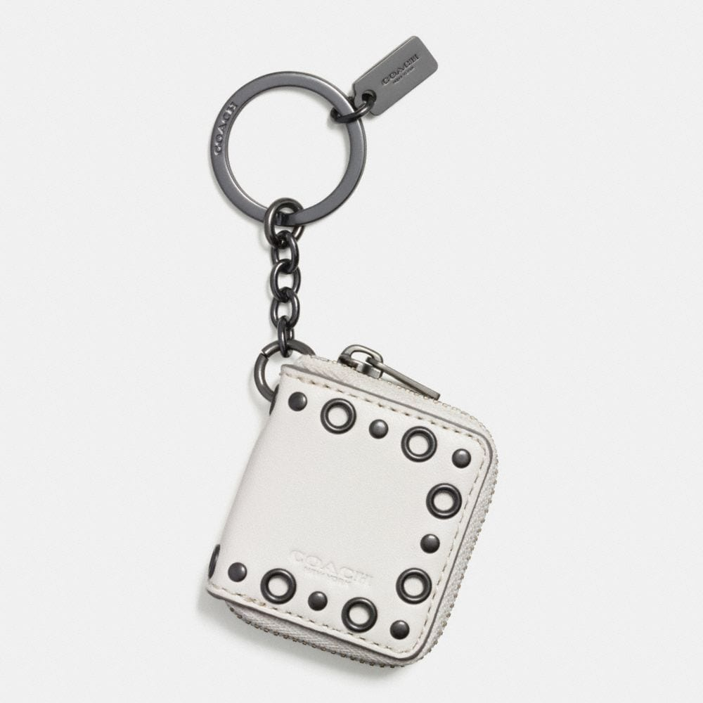 STUDDED PICTURE FRAME KEY RING