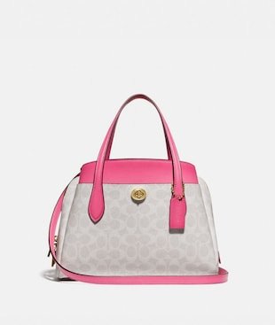 LORA CARRYALL 30 IN SIGNATURE CANVAS