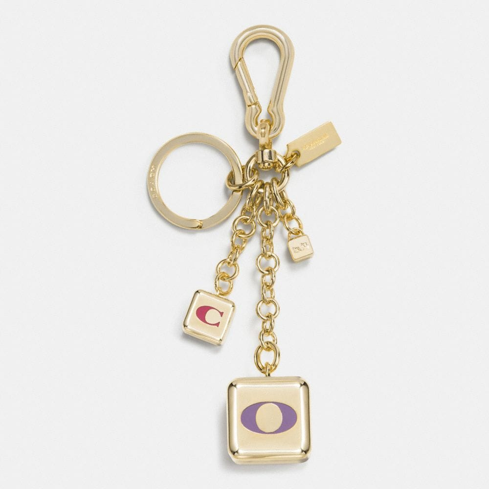 MULTI MIX BLOCK BAG CHARM