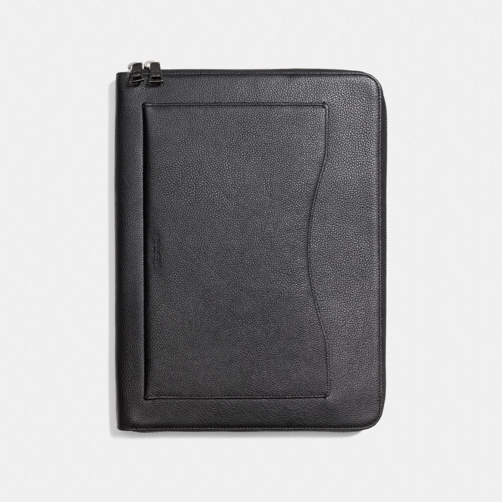 PORTFOLIO IN PEBBLE LEATHER
