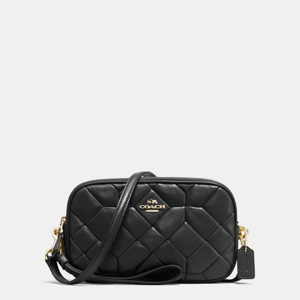 CROSSBODY CLUTCH IN CANYON QUILT LEATHER