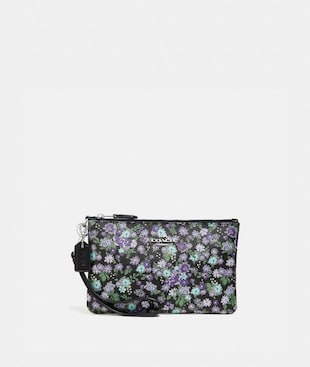 SMALL WRISTLET WITH POSEY CLUSTER PRINT