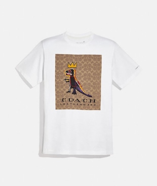 T-SHIRT COACH X JEAN-MICHEL BASQUIAT