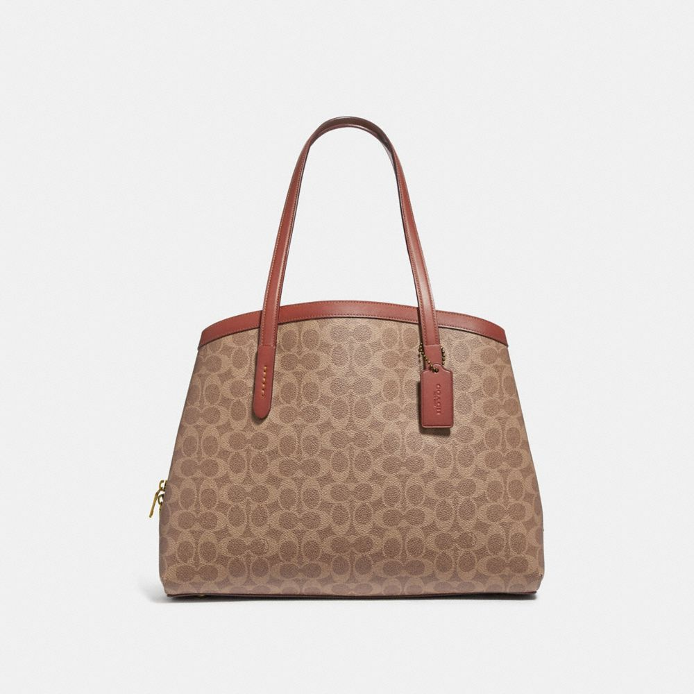 CHARLIE CARRYALL 40 IN SIGNATURE CANVAS