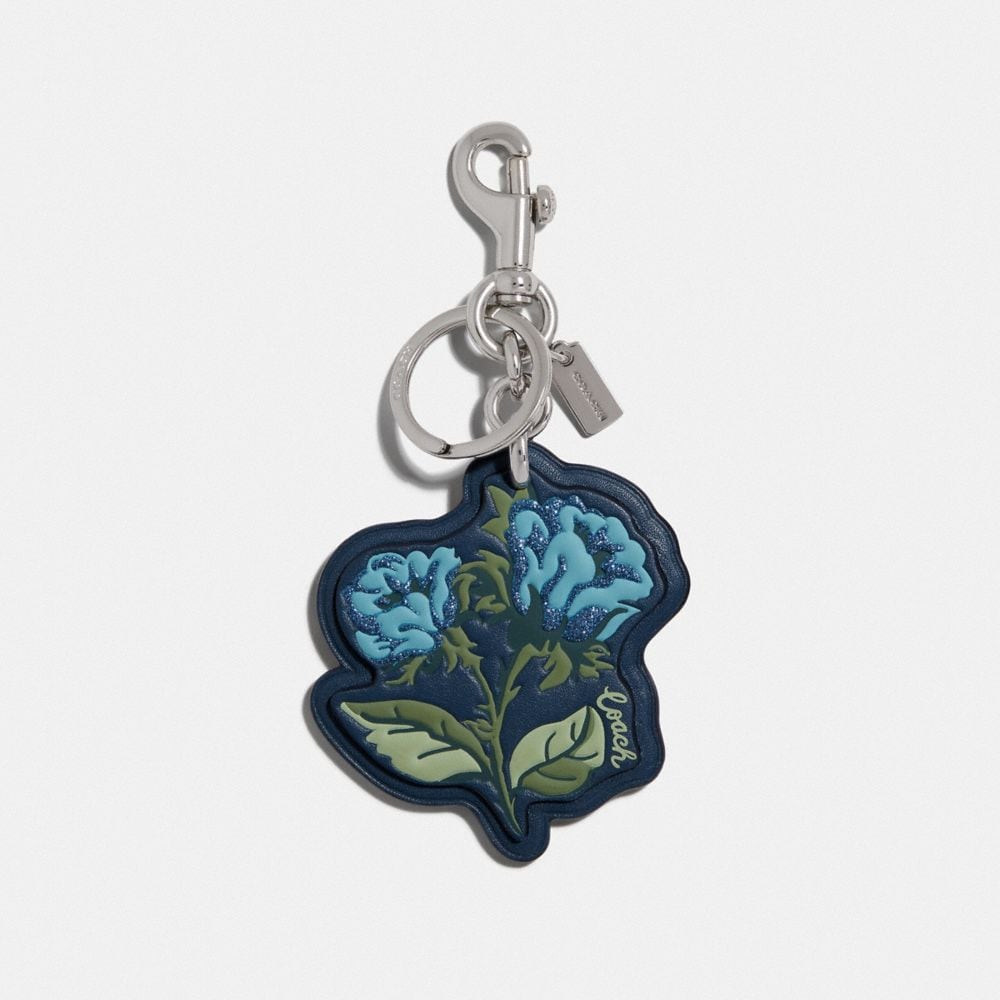 SLEEPING ROSE BAG CHARM