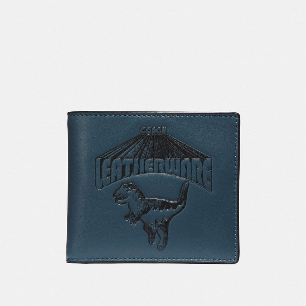 DOUBLE BILLFOLD WALLET WITH SUPER REXY