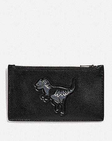 ZIP CARD CASE WITH REXY