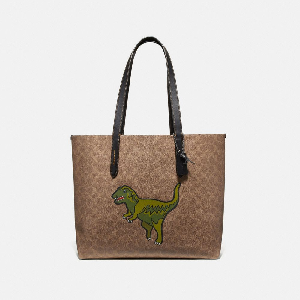 BORSA LARGA HIGHLINE IN TELA SIGNATURE CON REXY