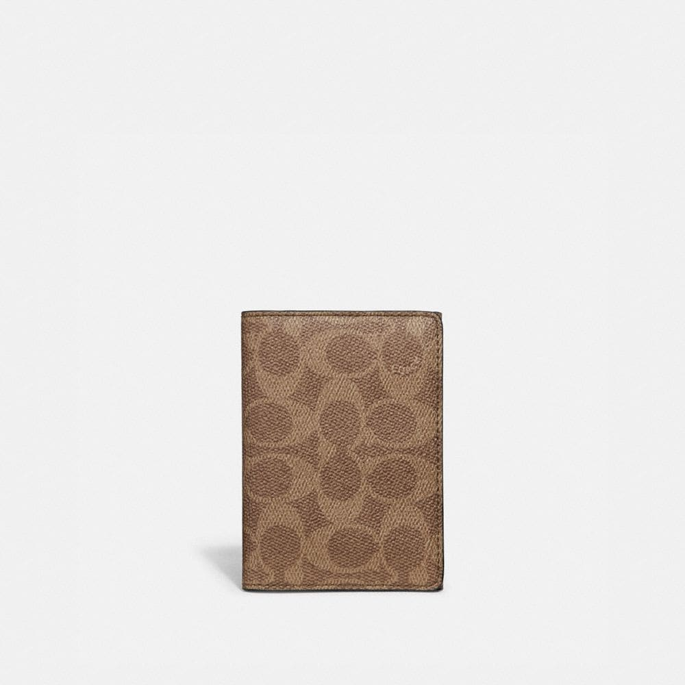BIFOLD CARD CASE IN SIGNATURE CANVAS