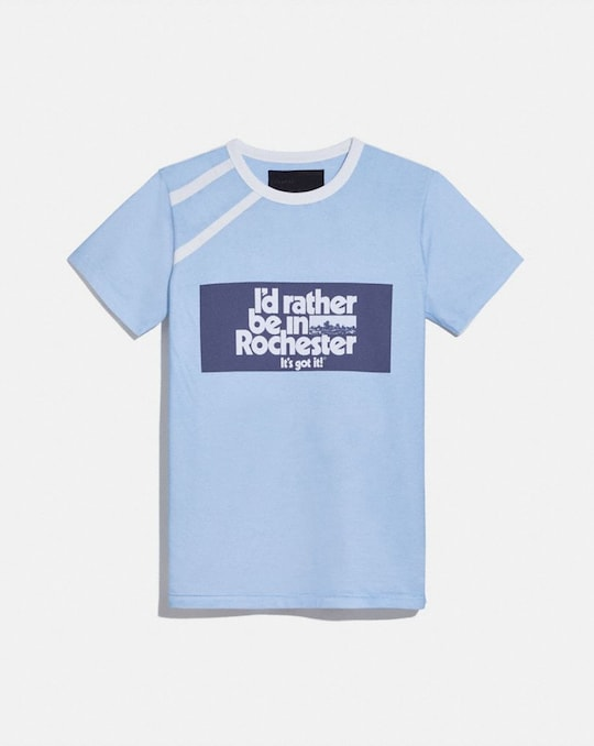 COACH X CHAMPION ROCHESTER T-SHIRT
