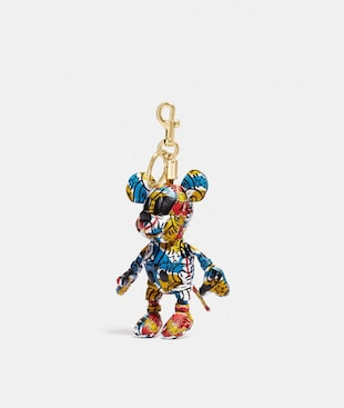 DISNEY MICKEY MOUSE X KEITH HARING COLLECTIBLE BAG CHARM