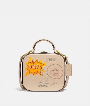 COACH X JEAN-MICHEL BASQUIAT SQUARE BAG