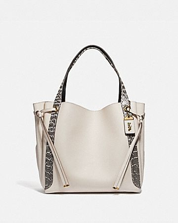 HARMONY HOBO 33 IN COLORBLOCK WITH SNAKESKIN DETAIL