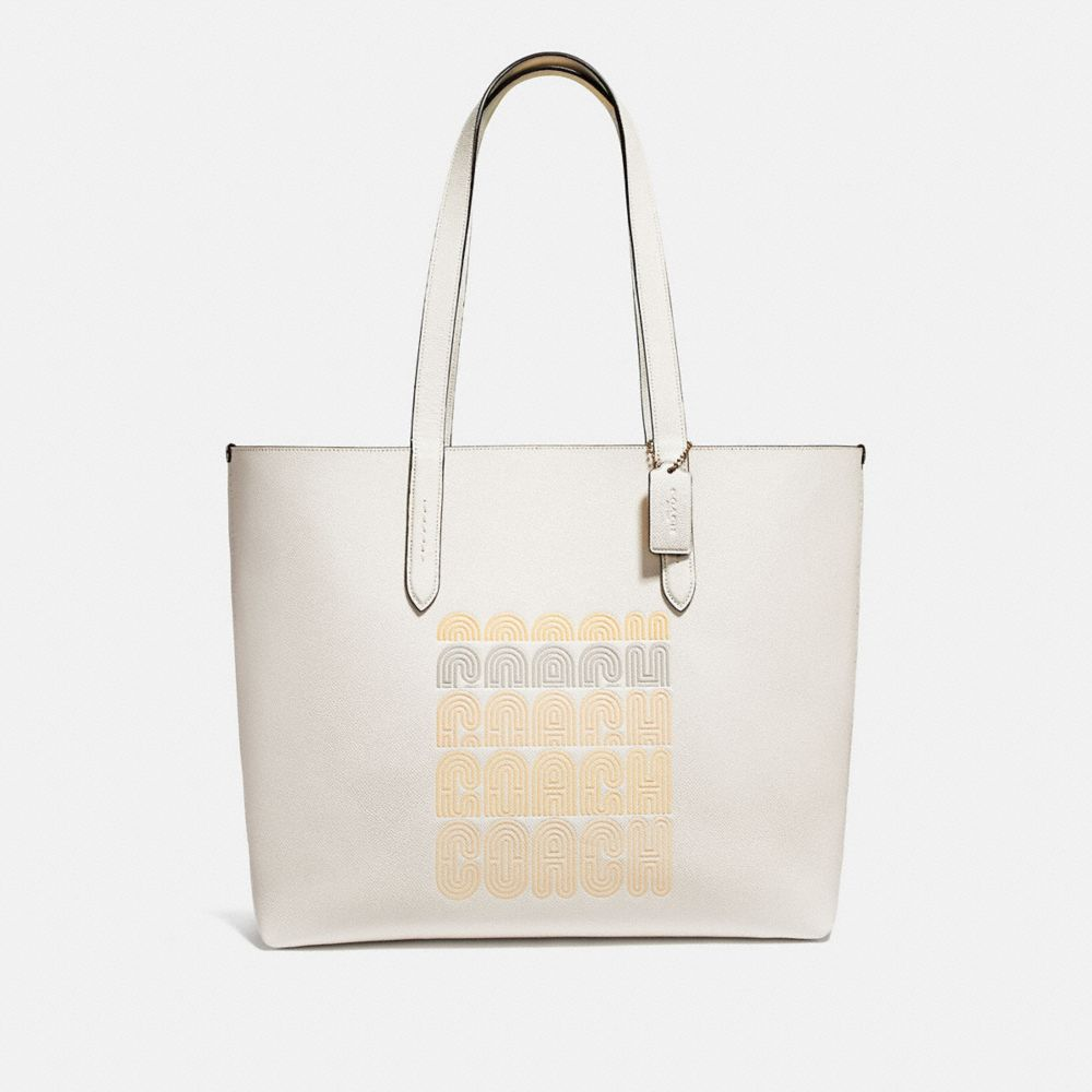 HIGHLINE TOTE WITH COACH PRINT