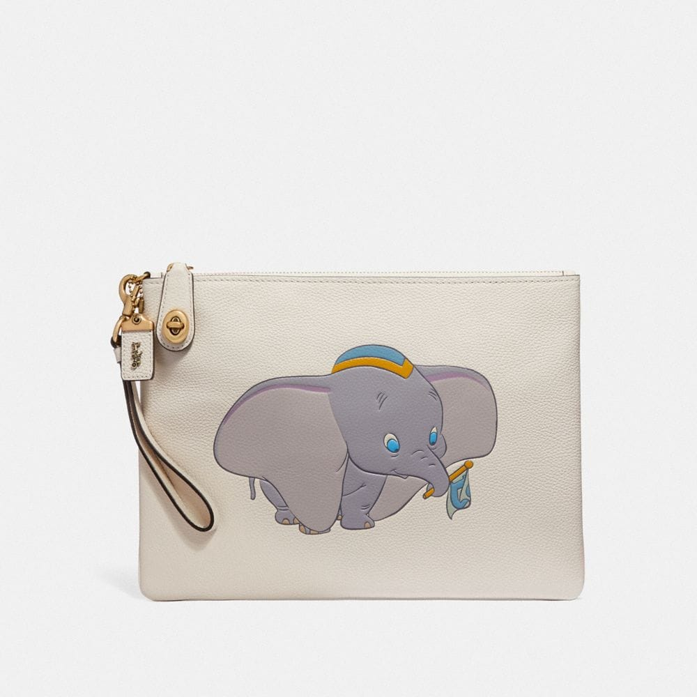 DISNEY X COACH TURNLOCK WRISTLET 30 WITH DUMBO